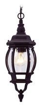 Livex Lighting 7523-04 - 1 Light Black Chain Lantern