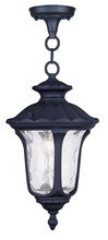 Livex Lighting 7849-04 - 1 Light Black Chain Lantern
