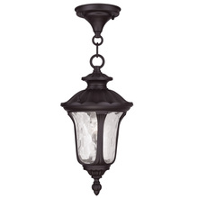 Livex Lighting 7849-07 - 1 Light Bronze Chain Lantern