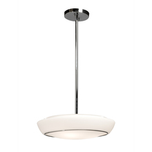 Artcraft AC2751 - Flushmount 3 Light  Chrome Pendant