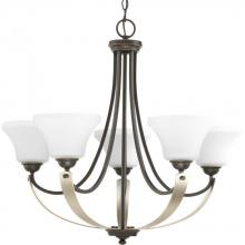 Progress P400012-020 - 5-Lt. Antique Bronze Chandelier