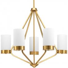 Progress P400022-109 - 5-Lt. Brushed Bronze Chandelier