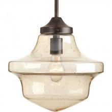 "Progress P5138-20 - 1-Lt. Globe Pendant (12"")"