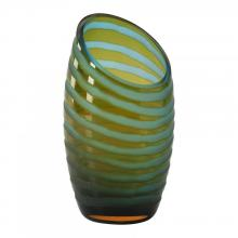 Cyan Designs 00105 - Sm Angle Cut Etched Vase