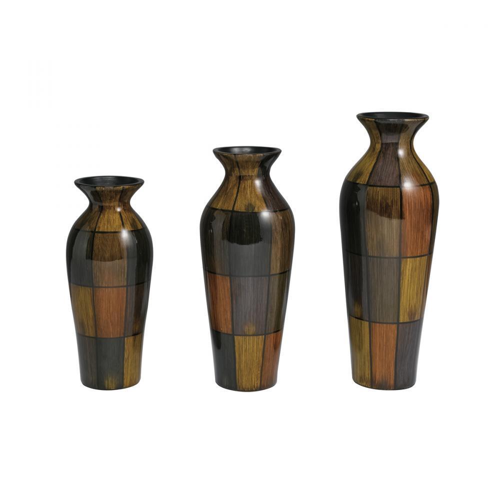 Decorative vase set of 3 9uh4q christies lighting decorative vase set of 3 reviewsmspy