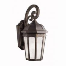 Kichler 11011RZ - Outdoor Wall 1Lt Fluorescent