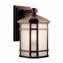 Kichler 11018PR - Outdoor Wall 1Lt Fluorescent