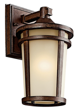 Kichler 49071BSTFL - Outdoor Wall 1Lt Fluorescent