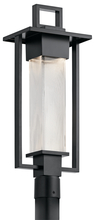 Kichler 49708BK - Outdoor Post Mt. 1Lt Halogen