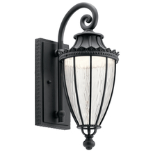 Kichler 49751BKTLED - Outdoor Wall 1Lt Led