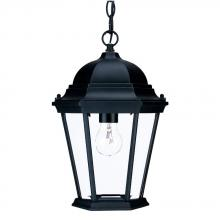 Acclaim Lighting 5206BK - Richmond Collection Hanging Lantern 1-Light Outdoor Matte Black Light Fixture