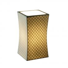 Justice Design Group POR-8870-OVAL - Hourglass Square Accent Lamp