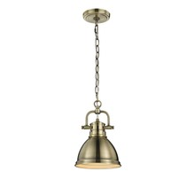 Golden 3602-M1L AB-AB - Mini Pendant with Chain