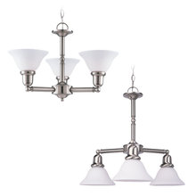 Sea Gull 39061BLE-962 - Three-Light Sussex Fluorescent Chandelier