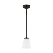 Sea Gull 6124501-710 - One Light Mini-Pendant
