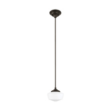 Sea Gull 65436-782 - Small One Light Pendant