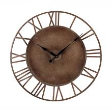Sterling Industries 128-1002 - Metal Roman Numeral Outdoor Wall Clock