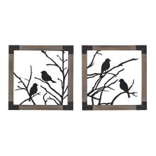 Sterling Industries 137-018/S2 - Ollerton Natural Woodtone Frame - Set of 2