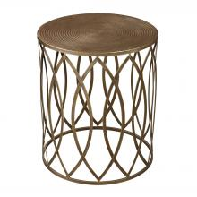 Sterling Industries 138-009 - Accent Table In Gold Leaf