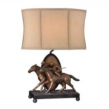 Sterling Industries 93-19386 - Winning Post 1 Light Accent Lamp In Blyth Bronze