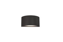 Kuzco Lighting Inc EW9010-BK - Olympus - Exterior Wall Light Extruded Aluminum with Die-Cast Ends and Powder Coated Finish