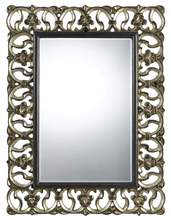 "CAL Lighting WA-2168MIR - 48"" Tall Polyurethane Mirror In Dark Bronze/Silver Finish"