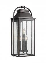 Feiss OL13201ANBZ - 3 - Light Outdoor Wall Lantern