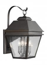 Feiss OL13502ANBZ - 4 - Light Outdoor Wall Lantern