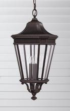 Feiss OL5412GBZ - 3- Light Pendant