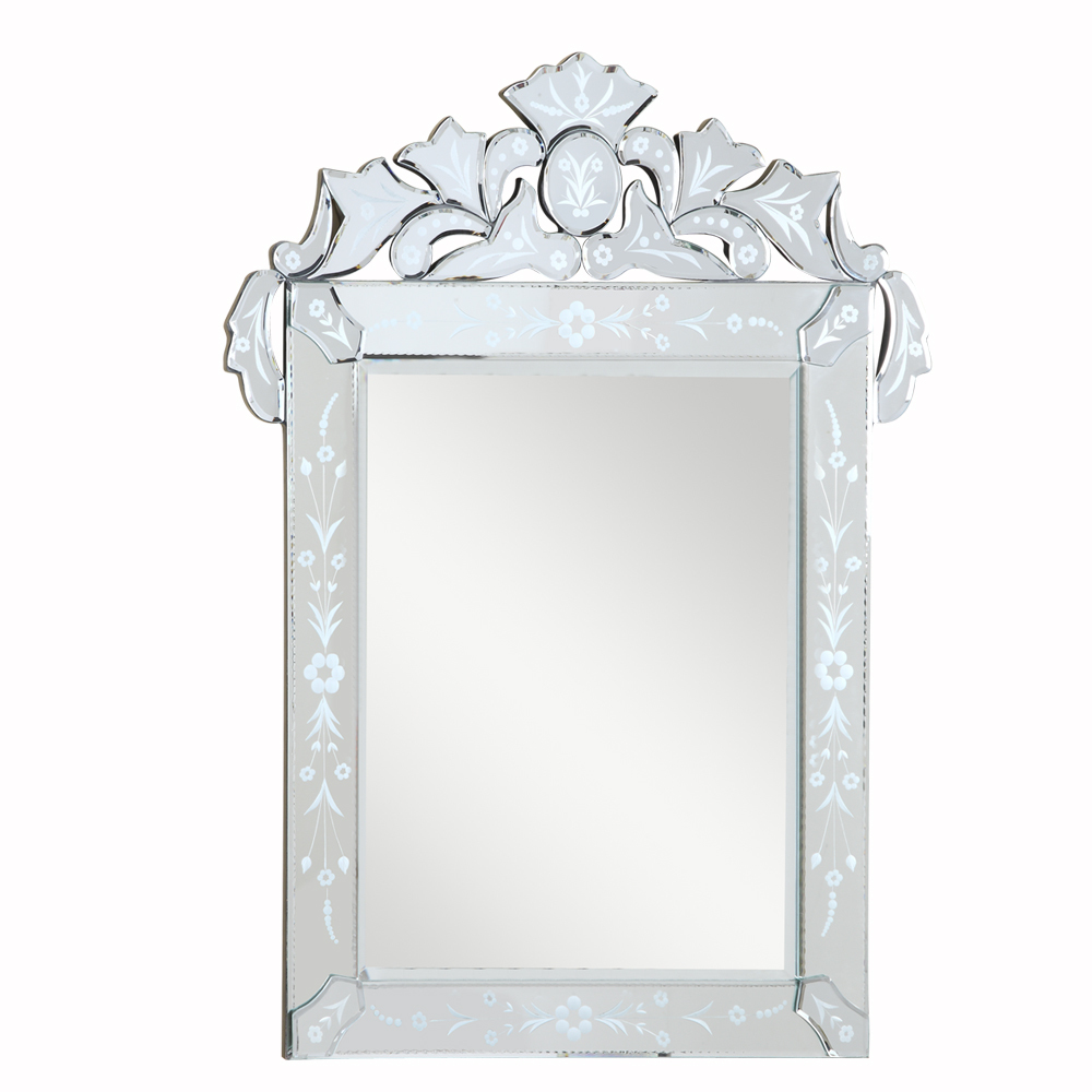 Venetian 39 in. Transitional Mirror in Clear : HJRE3   Christie\'s ...