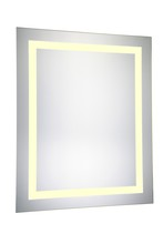 "Elegant MRE-6013 - LED Electric Mirror Rectangle W24""H30"" Dimmable 3000K"