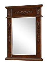 Elegant VM-1009 - Danville 22 in. Traditional Mirror in Brown