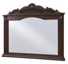 Elegant VM-1043 - Windsor 50 in. Traditional Mirror in Teak color