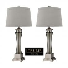 Dimond D2339/s2 - Trump Home Onassis Table Lamps in Nickel Finish - Set of 2