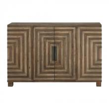 Uttermost 24773 - Uttermost Layton Geometric Console Cabinet