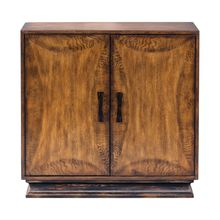 Uttermost 25846 - Uttermost Sanele Honey Stain Console Cabinet