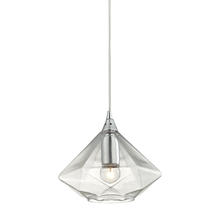 ELK Lighting 10440/1 - Geometrics 1 Light Pendant In Polished Chrome
