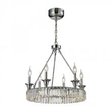 ELK Lighting 11805/12+6 - Manning 18 Light Chandelier In Polished Chrome